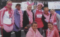 Our team at the Race for Life.